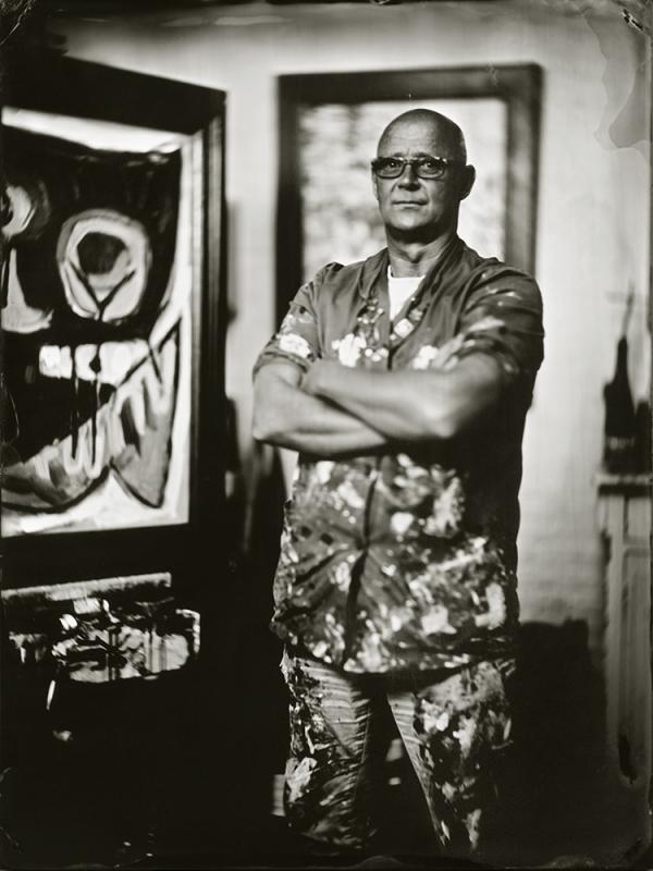 Rob van Trier Artpainter 18x24 cm Tintype
