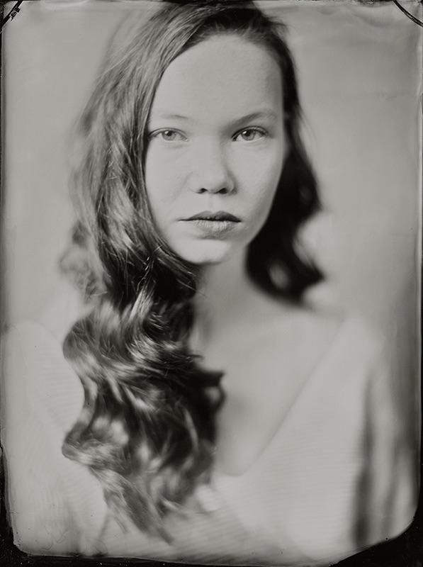 Like , share, win en dan? een tijdloos wetplate tintype zilver portret