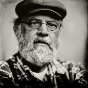 wetplate tintype portret gemaakt met het wetplate collodium procedé