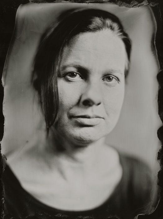 18x24cm Tintype portret